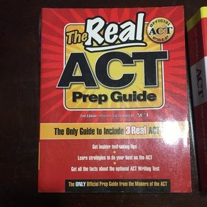 ACT practice book